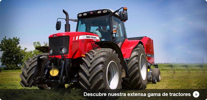 Descubre nuestra extensa gama de tractores