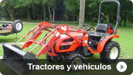 Tractores y vehículos