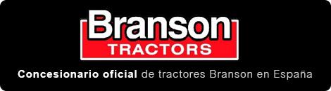 Branson Tractors, concesionario oficial de tractores Branson en España